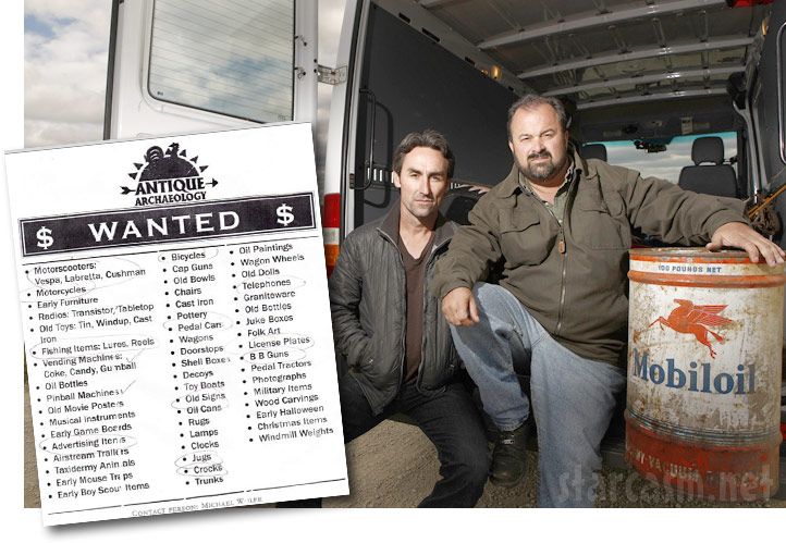 American Pickers Cast 2014