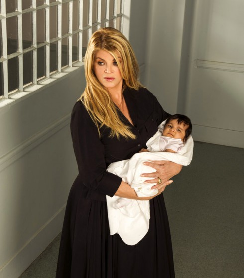 Kirstie Alley in the Lifetim Original Movie Baby Sellers