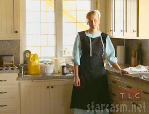 Breaking Amish Los Angeles Iva in the kitchen
