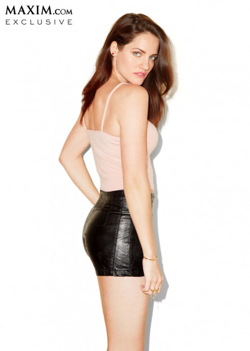 Kate from Breaking Amish in Maxim magazine photo