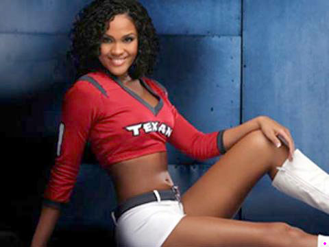 Big Brother Candice Stewart Texans cheerleader
