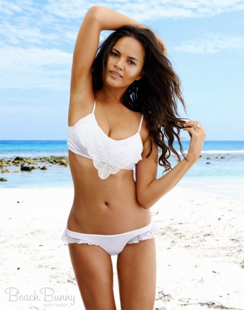 Beach Bunny Swimwear Chrissy Teigen bridal bikini Take The Plunge