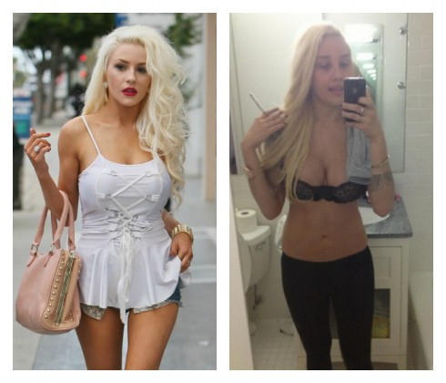 Courtney Stodden Amanda Bynes Feud
