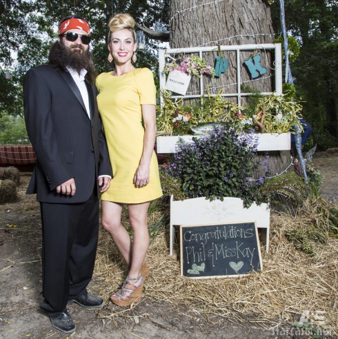 Jep Robertson and wife Jessica Robertson