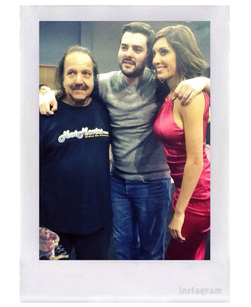 Teen Mom Farrah Abraham with Ron Jeremy Exxxotica Expo Chicago 2013