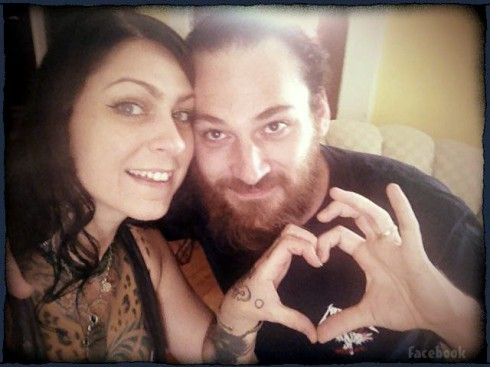 Danielle Colby is married to a French artist and graphic designer Alexandre De Meyer