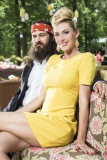 Duck Dynasty Jep Robertson and wife Jessica Robertson