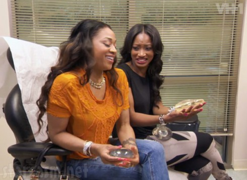 Mimi Faust and Erica Dixon visit the plastic surgeon about a boob job