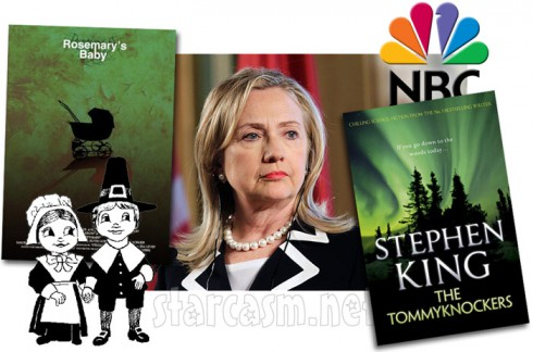NBC announces Tommyknockers Rosemary's Baby Hillary Clinton documentary and Plymouth pilgrims series for 2013