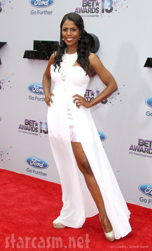 2013 BET Awards red carpet Omarosa Manigault
