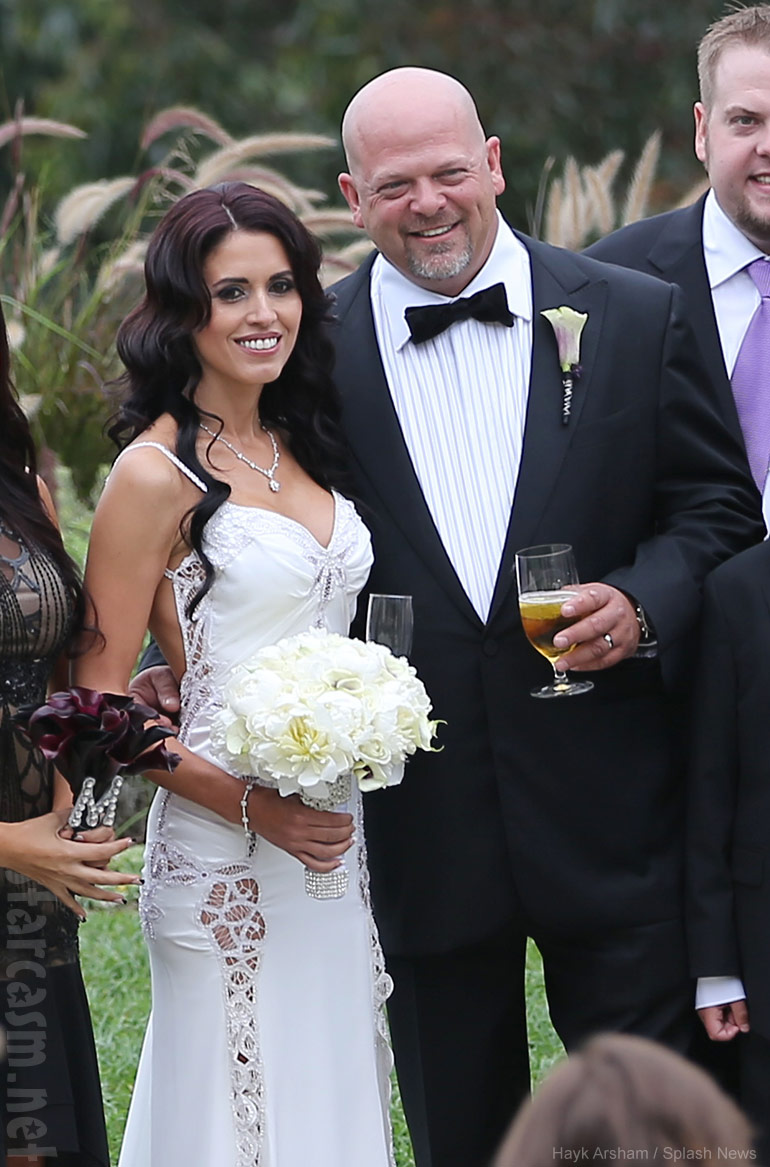 Pawn Stars Rick Harrison wedding photos with bride DeAnna Burditt