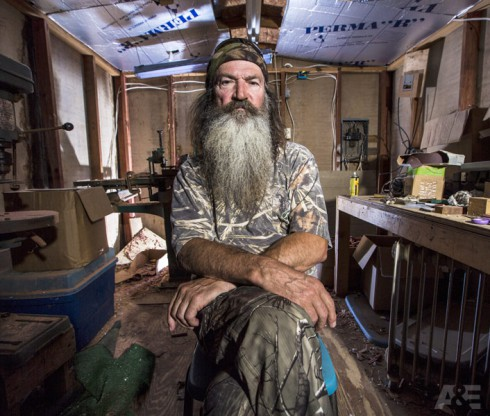 Phil Robertson Duck Dynasty Season 4 workshop