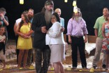 Phil Robertson and Miss Kay dancing