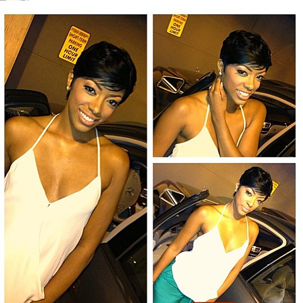 Porsha Stewart Short Hair