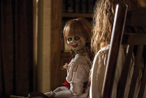 parts of the film is the creepy doll Annabelle. Is she real too