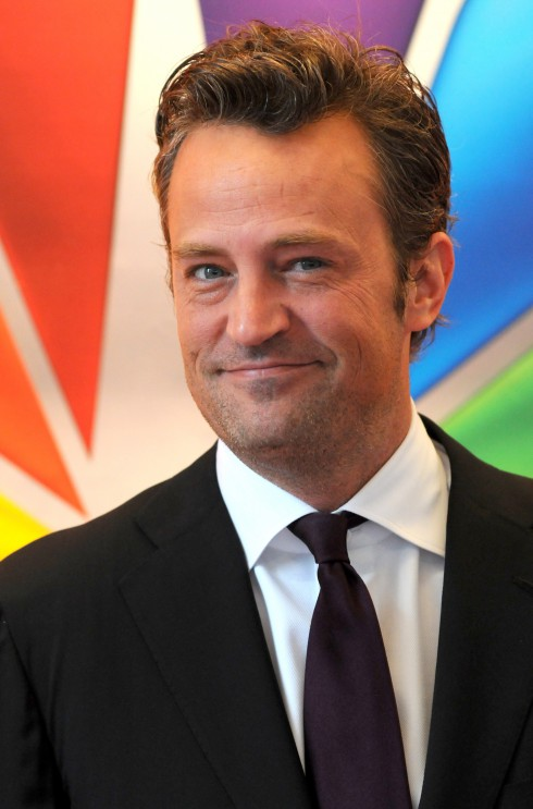Matthew Perry at the 2012 NBC Upfront Presentation at Radio City Hall in New York City, United States.