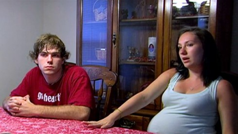 Alex Sekella and Arabella's dad Matthew McCann together on 16 and Pregnant