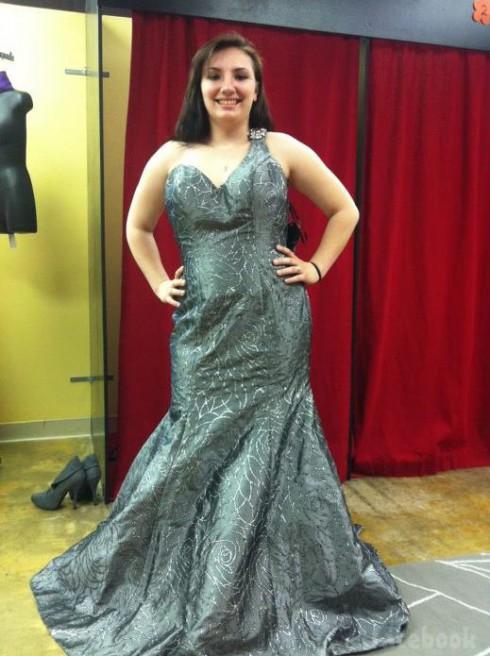 Teen Mom 3 Alex Sekella tries on prom dresses