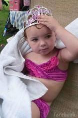 Teen Mom 3 Alex Sekella's daughter Arabella birthday princess