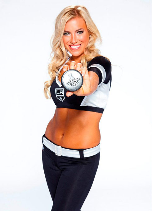 Ally Mello LA Kings Ice Girl The Amazing Race