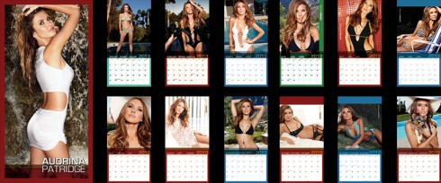 Audrina Patridge 2013 swimsuit calendar