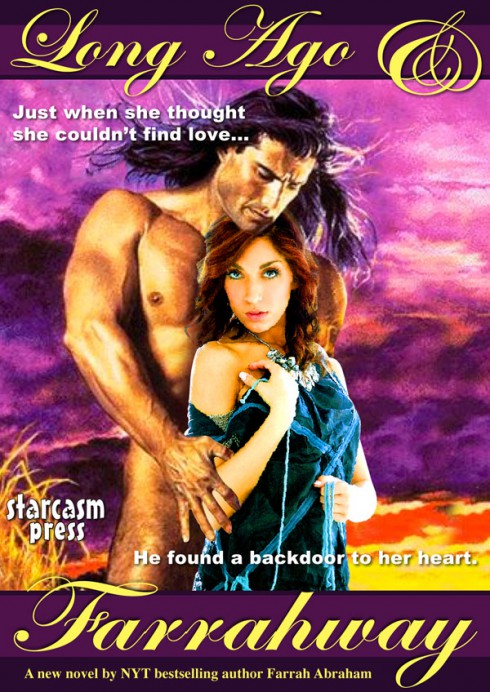 Farrah Abraham erotic romance book cover