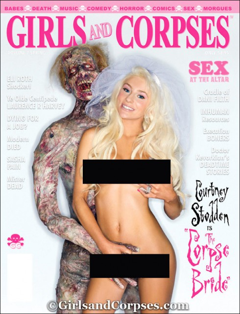 Courtney Stodden Girls and Corpses magazine cover