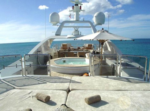 Honor Below Deck jacuzzi view
