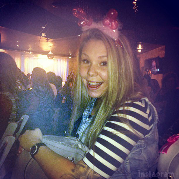 PHOTOS Kailyn Lowry's bachelorette party at male revue casino show