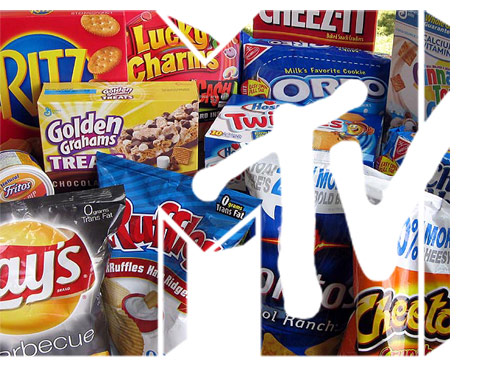 MTV logo Snackdown