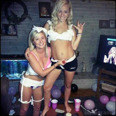 Teen Mom 3 Mackenzie Douthit lingerie bachelorette party