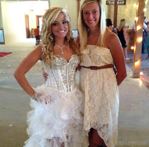 Teen Mom 3 Mackenzie Douthit wedding gown