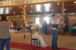 Mackenzie Douthit wedding reception photo