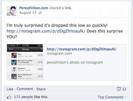Perez Hilton feuds with Lady Gaga online 8