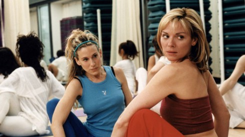 Kim Cattrall Yoga Sex and the City