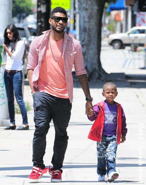 Usher thanks Eugene St...