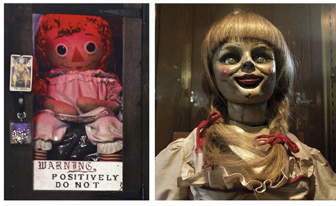 Real creepy haunted Annabelle doll from The Conjuring is a