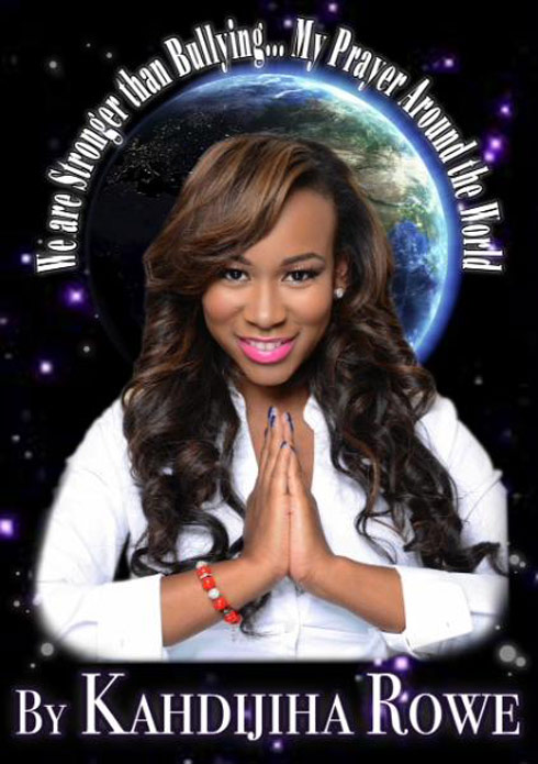 Big Rich Atlanta Kahdijiha Rowe book cover We are Stronger than Bullying...My Prayer Around the World