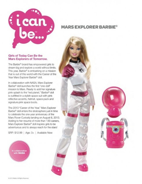new nasa astronaut barbie - photo #16