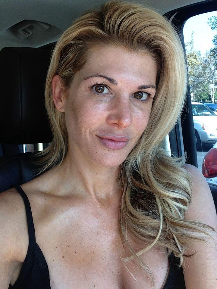 Gretchen rossi no makeup