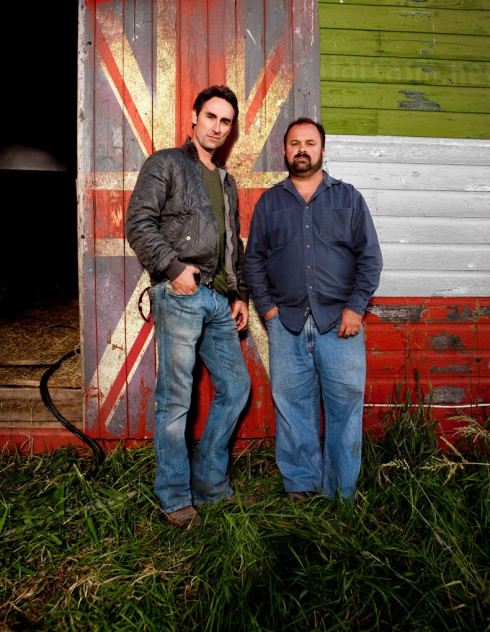 American Pickers Mike Wolfe and Frank Fritz heading to England and Ital for Season 6