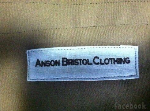 Breaking Amish LA Matt fashion label Anson Bristol Clothing