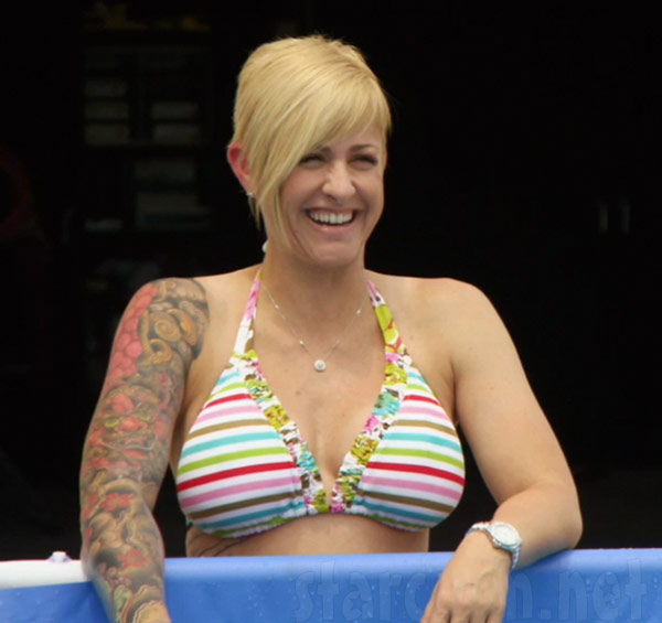 Christie Fast N' Loud in a bikini