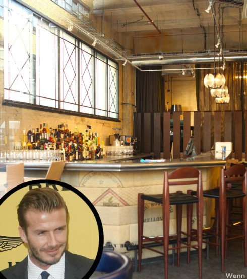 David Beckham Pies-and-Mash Restaurant