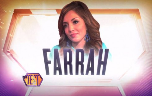 Farrah Abraham on The Test show
