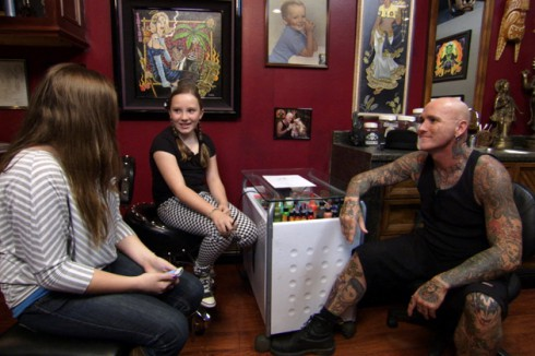 Dirk Vermin's Daughters on Bad Ink