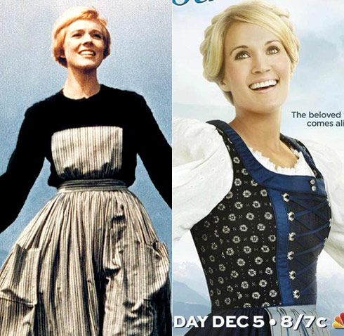 Julie Andrews Carrie Underwood The Sound of Music