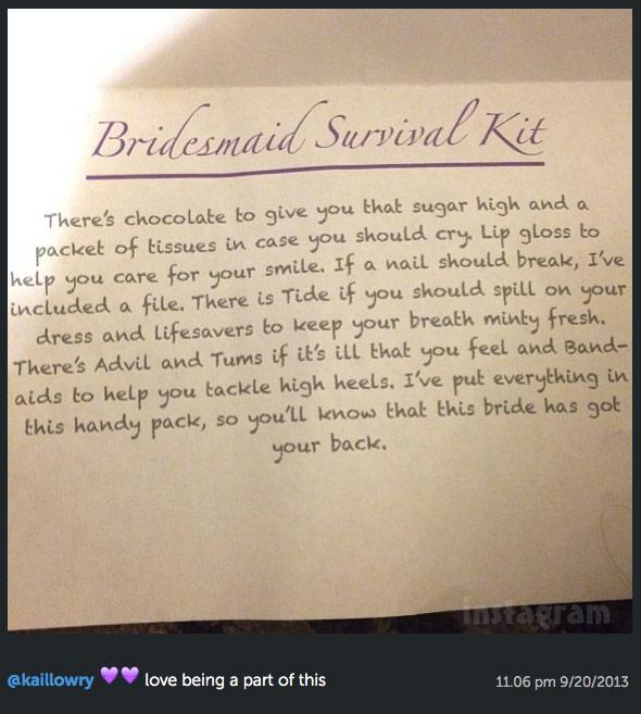 Survival Kit Poem