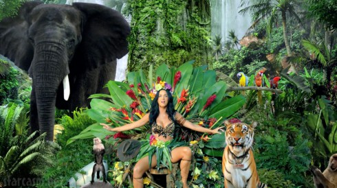 Katy Perry Roar music video screen cap wallpaper