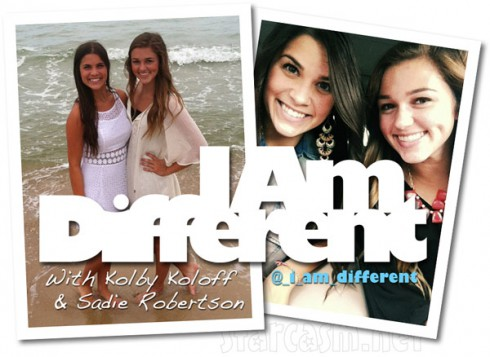 Sadie Robertson and Kolby Koloff I Am Different video series